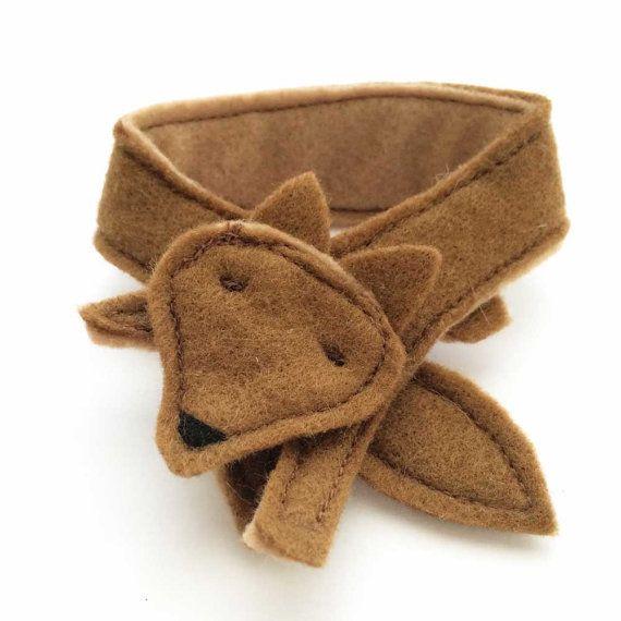 Wool Felt Doll Toy Handmade Accessories _  FOX by florieandmillie
