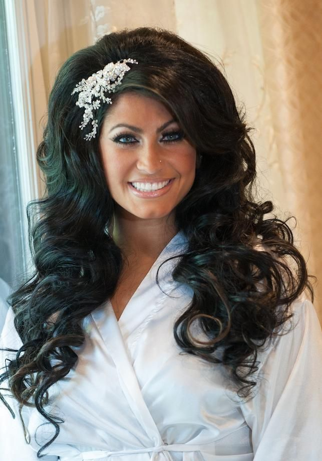 Tracy Dimarco. I want big long, I mean LONG wedding hair! Updos are overdone