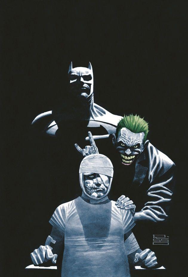 Vertigo Announces 'Dark Night,' A New Batman Graphic Novel From Paul Dini And Eduardo Risso