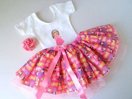 Conjunto - Princesa - 0 a 8 anos