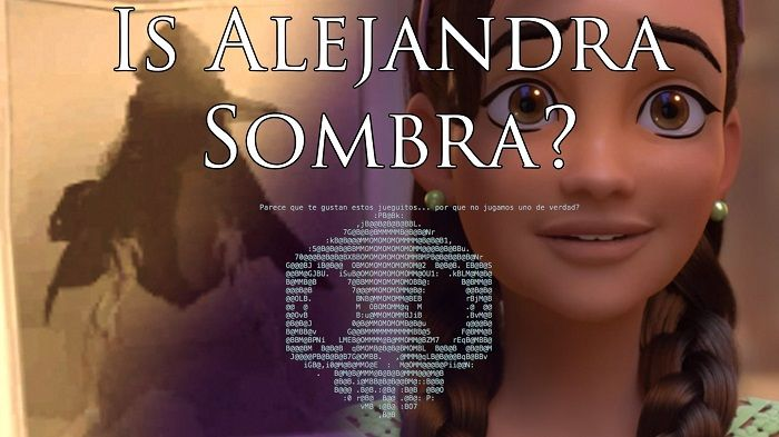A popular Overwatch theory suggests that Alejandra -- that little girl from the animated short titled Hero -- and Sombra are one.