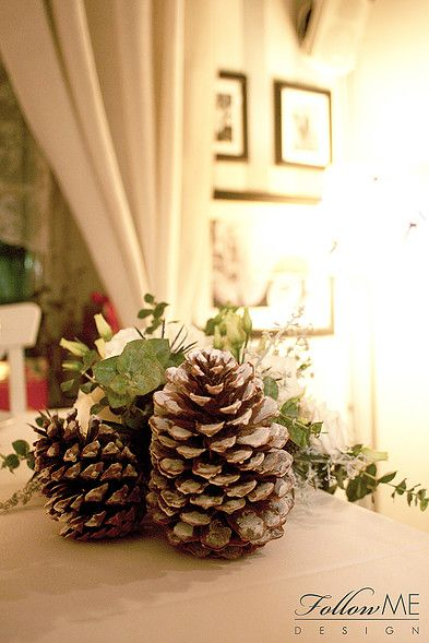 Dekoracje stołów weselnych / Zimowe dekoracje ślubne od FollowMe DESIGN / Wedding Table Decorations / Winter Wedding Decorations & Details by FollowMe DESIGN