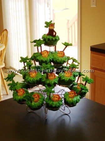 Curious George Cake & cupcakes
