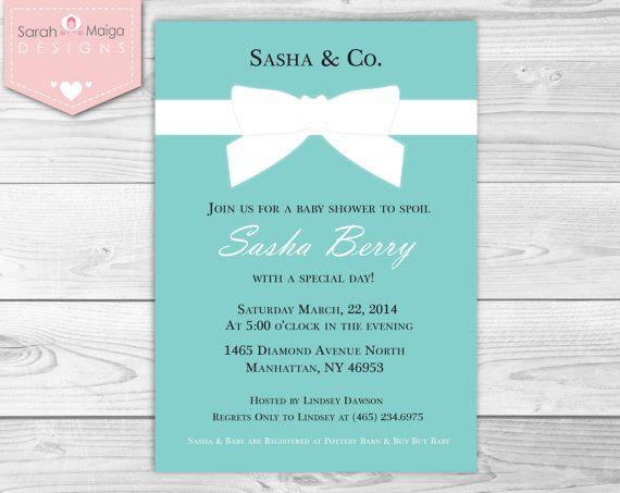 Mermaid Baby Shower Invitation as luxury invitation template
