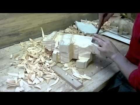 Медведь из дерева. Bear wood.Masterclass - YouTube