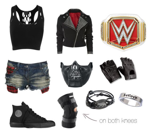 """""""•wwe fighting gear (2)•"""" by katyb101 ❤ liked on Polyvore featuring Converse, Crafted, Poizen Industries, Faster by Mark Fast and Erica Anenberg"""
