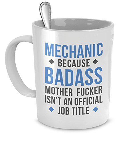 Mug Mechanic gifts Mechanic mug - Badass Mechanic mug - M...…
