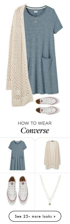 """Late to school"" by alexaajr on Polyvore featuring moda, Toast, Converse, Violeta by Mango y LC Lauren Conrad"