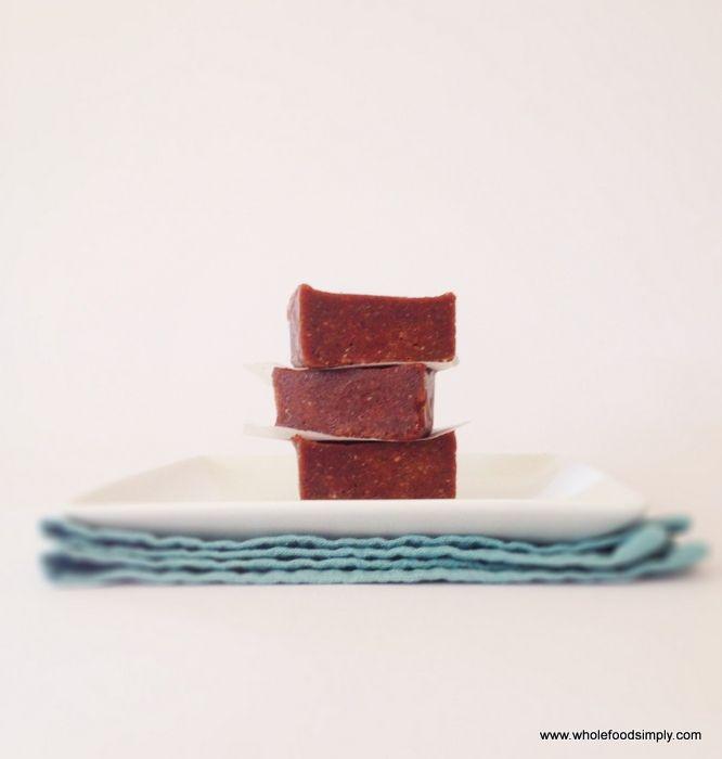 Simply Raw Chocolate Fudge - Wholefood Simply