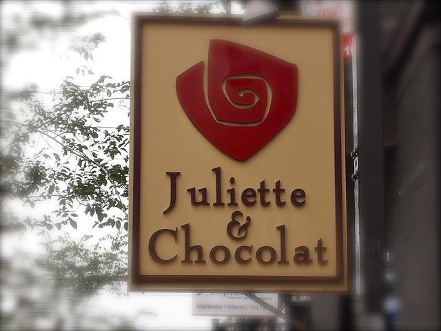 Chocolate et Juliette Montral