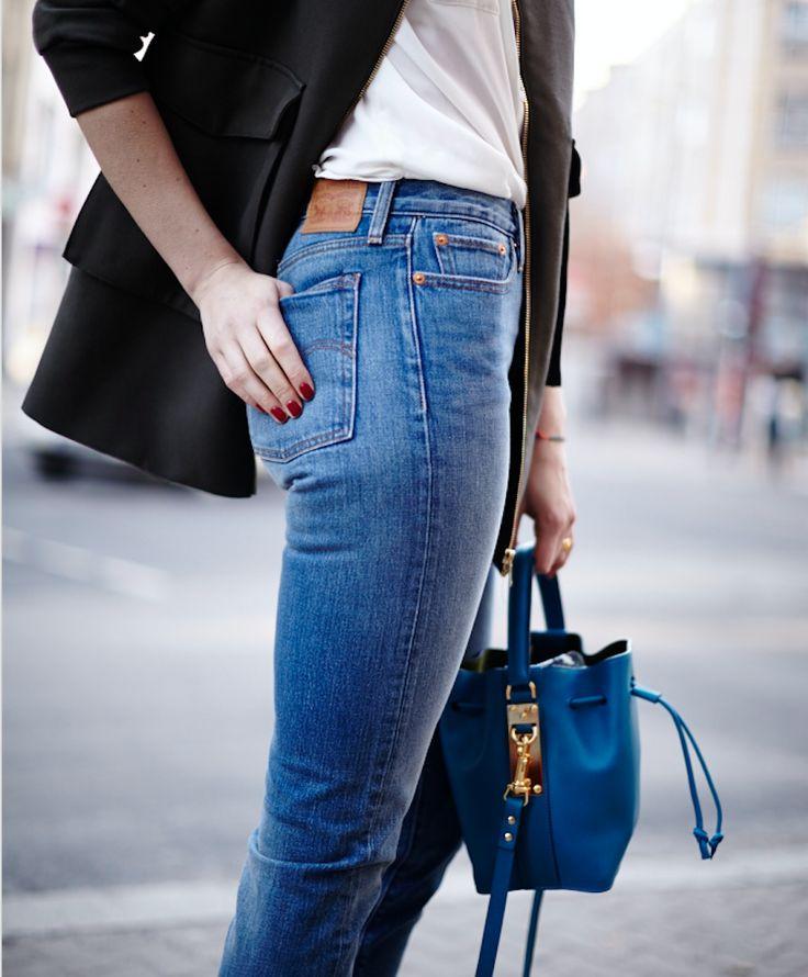 Berlin Fashion Week | Levis Icon Wedgie Jeans | Sophie Hulme | Style | Streetstyle