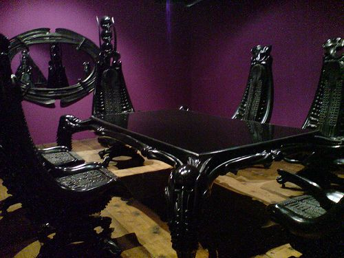 Might Have To Rethink My Black Walled Gothic Dining Room Now That Ive Seen This
