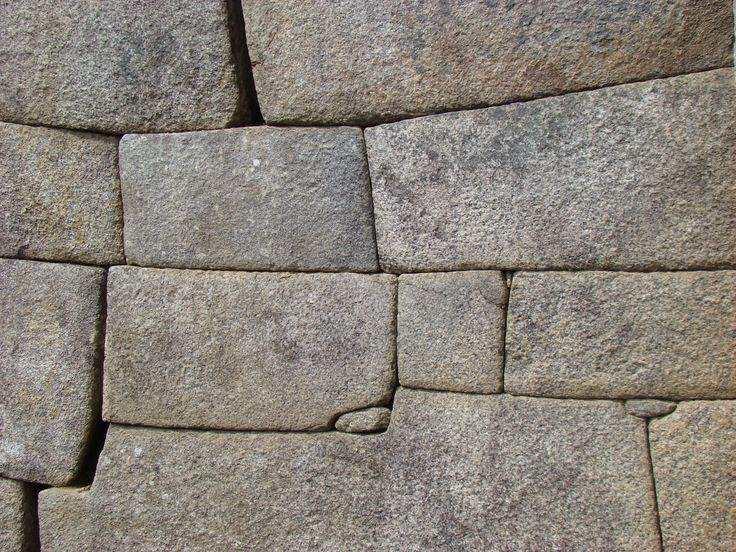Machu Picchu, Peru. Most of the Inca walls are worth studying, they fascinate me anyhow. (2011)