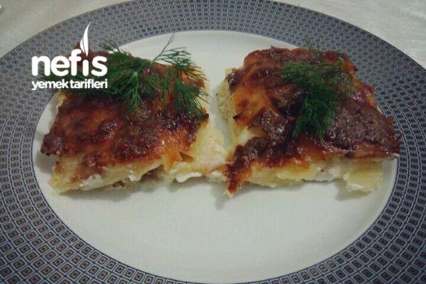 Fırında Nefis Labneli Patates