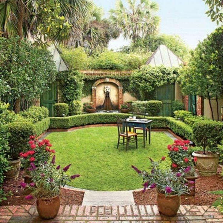 39 Pretty Small Garden Ideas: 44 Pretty Backyard Seating Area Design Ideas