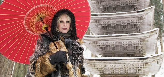 Joanna Lumleys Japan is breathtakingly beautiful.. But all anyone's talking about is THAT COAT. Fashion icon goals