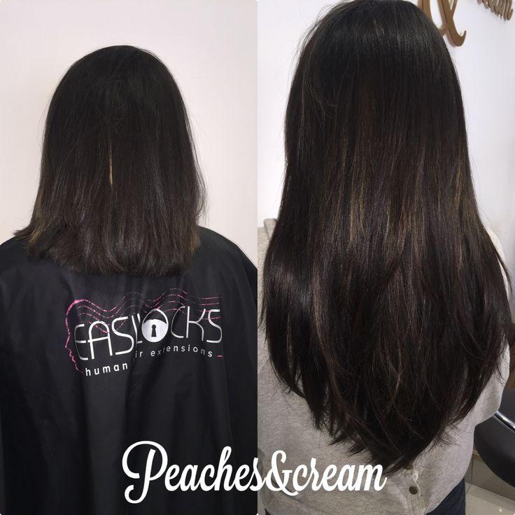 "Easilocks hair extensions 18"""