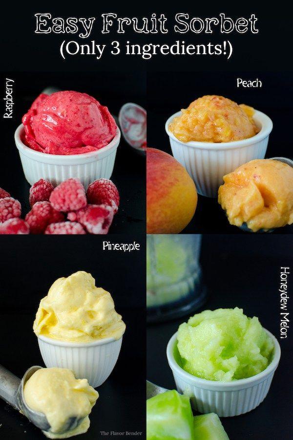 1000+ ideas about Fruit Sorbet on Pinterest   Sorbet, Kitchenaid Ice ...