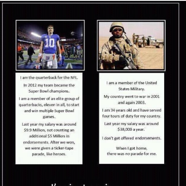 Why does our country have its priorities so backwards!