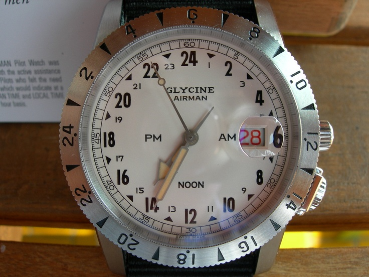 Coin des Affaires - Glycine Airman Vintage 1953