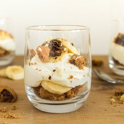 Chocolate chip cookie banaan desserts