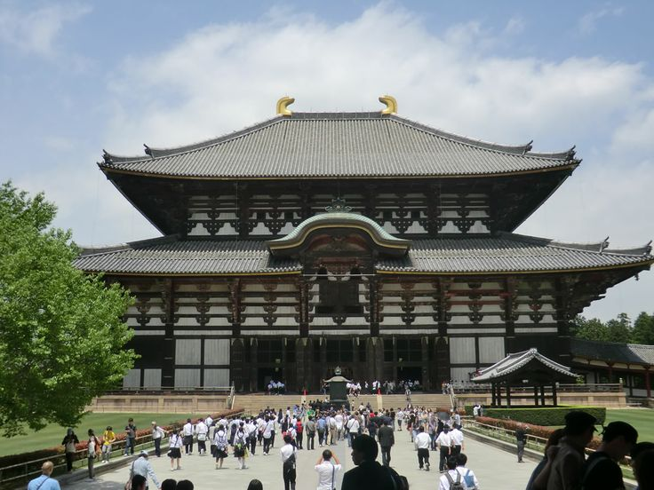 Nara: Todaiji-ji, Todai shrine 奈良: 東大寺 #japan #sightseeing