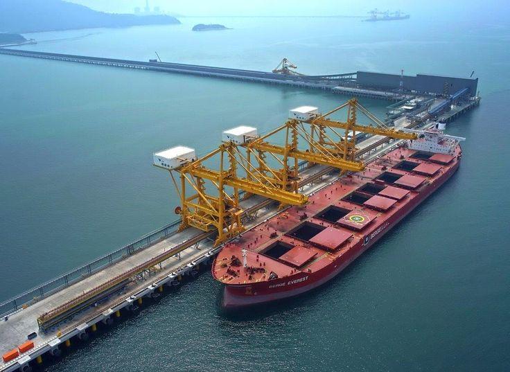 Iron Ore Jetty for Vale, Perak, Lumut, Malaysia | Delta Marine ...