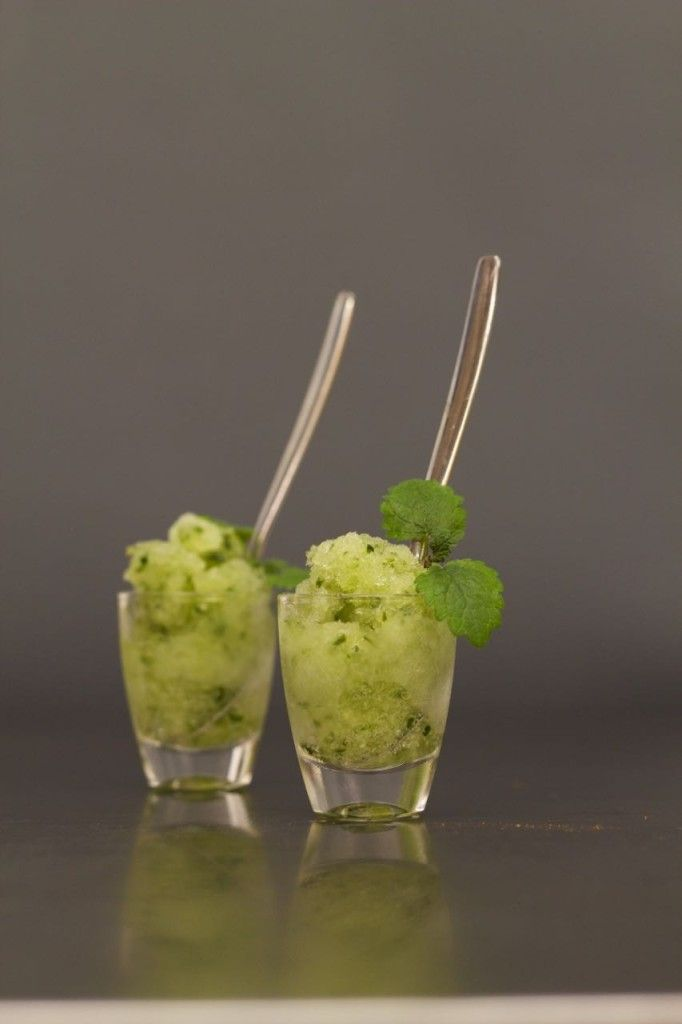 Cucumber Gin and Tonic Sorbet