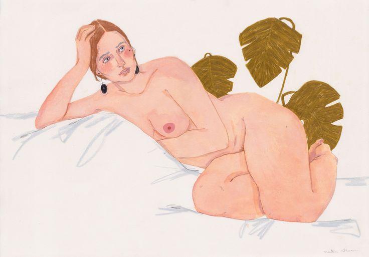 monstera by Caintlin She