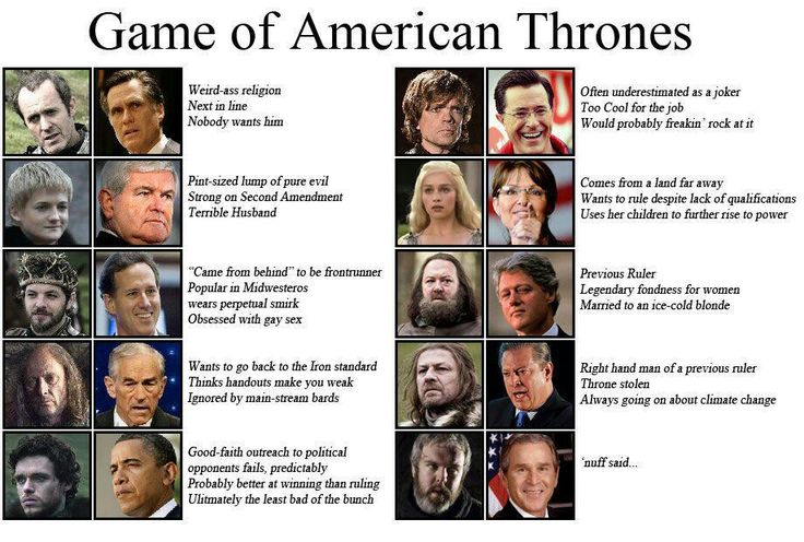 Game of American Throbes. #NovemberIsComing
