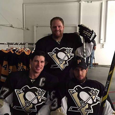 Phil Kessel, Sid Crosby, Nick Bonino
