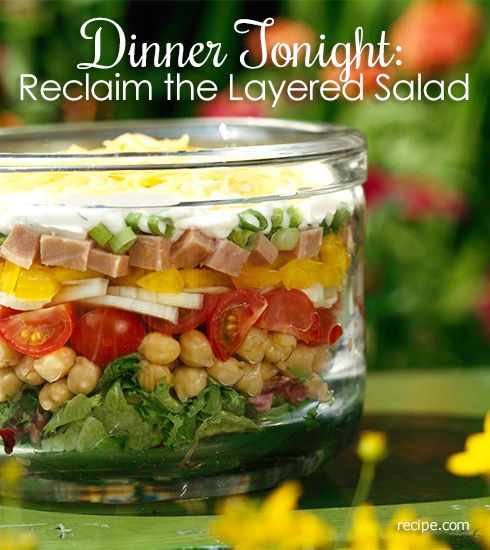 Dinner Tonight: Reclaim the Layered Salad
