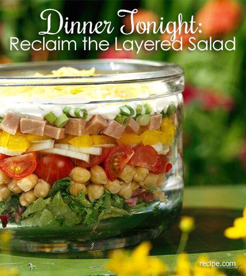 Dinner Tonight: Reclaim the Layered Salad