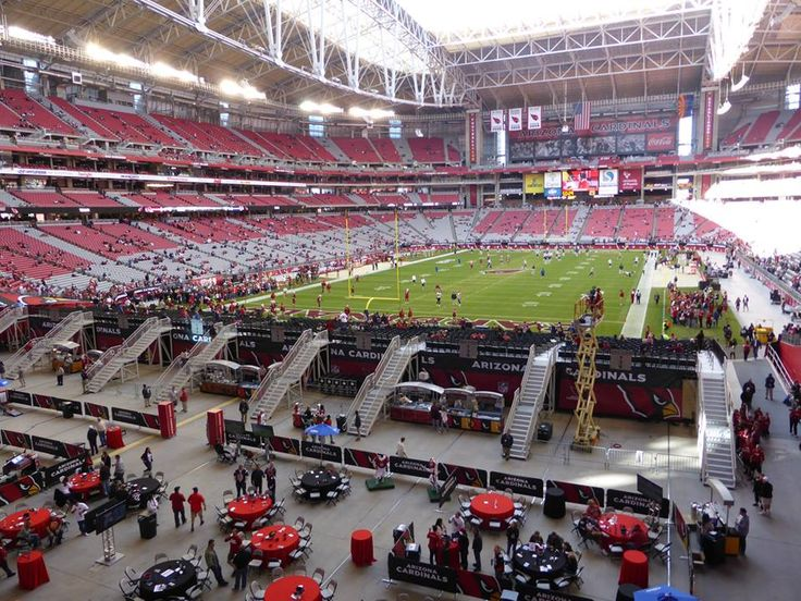 University of Phoenix Stadium in Glendale, AZ