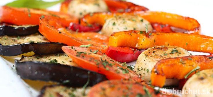Grilovaná zelenina s cesnakom