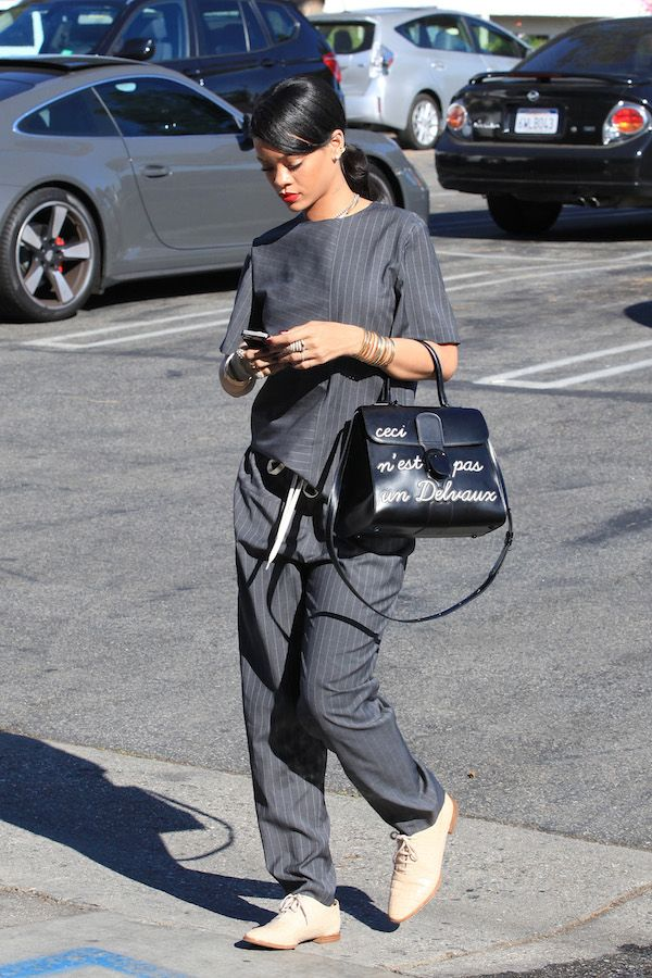 *EXCLUSIVE* Rihanna takes a break from her Monster tour for some BFF time.....Love this fit!
