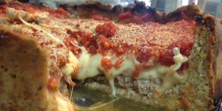 Chicago Style Pizza, no carb crust, so easy and delicious.  I would leave out all the sausage and add more veggies.  But, love the crust idea.