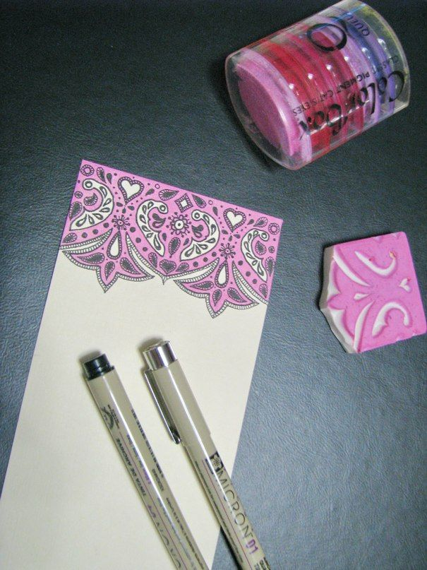 Открытки ручной работы и свадебные приглашения, графика, штампинг