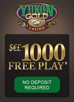 Yukon Gold Casino offer $1000 FREE and 1 hour to play. They also offer free membership to  CasinoRewardsGroup where they are one of 29 casinos that come under the loyalty program.