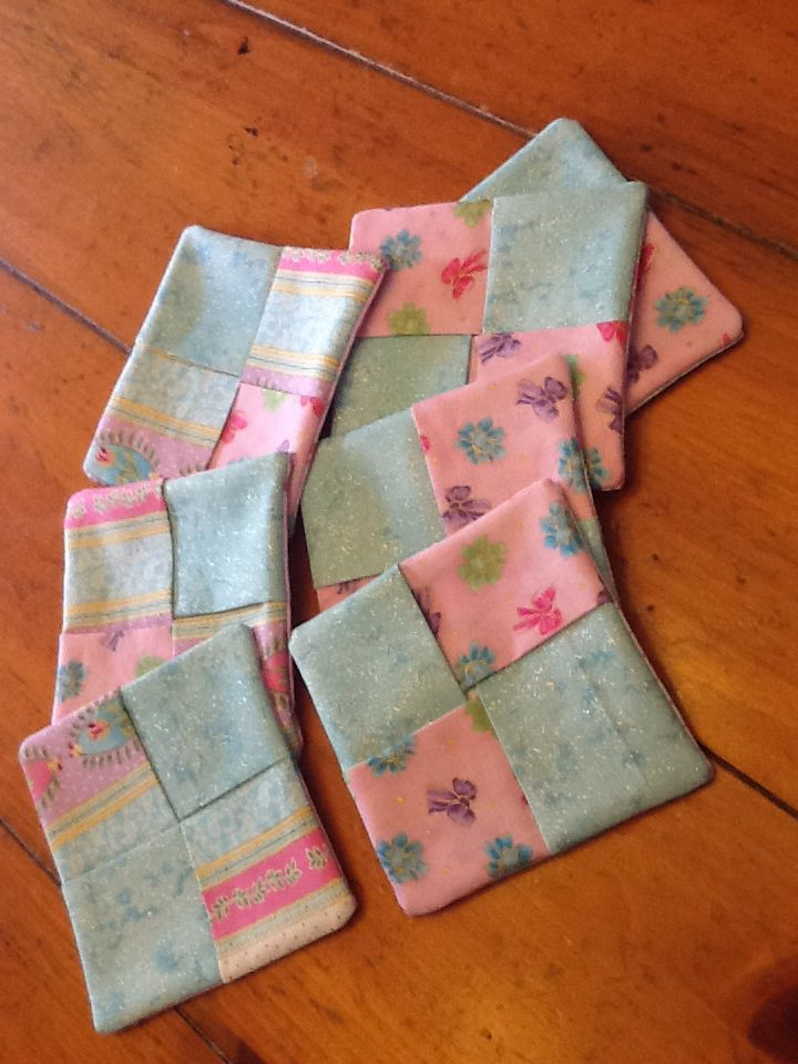 Mug rug for Easter with cute fabric from Sew Special and pattern from ...