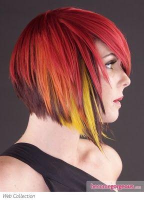 Peinados a la Moda: Coloridos y audaces Cortes Punk - 2013