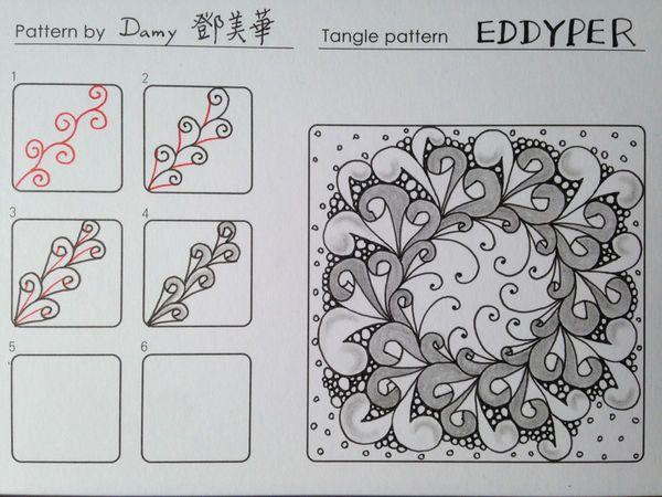 Tangle: Eddyper__禪繞畫