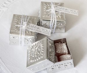 Embossed Tin Boxes filled with Turkish Delight