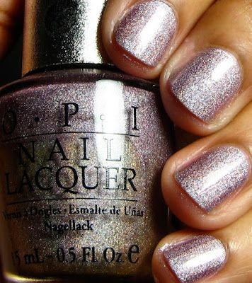 OPI DS Diamondo OPI is my fav nail company but I see Essie is doing it right now also, so I will see what is going on with them!