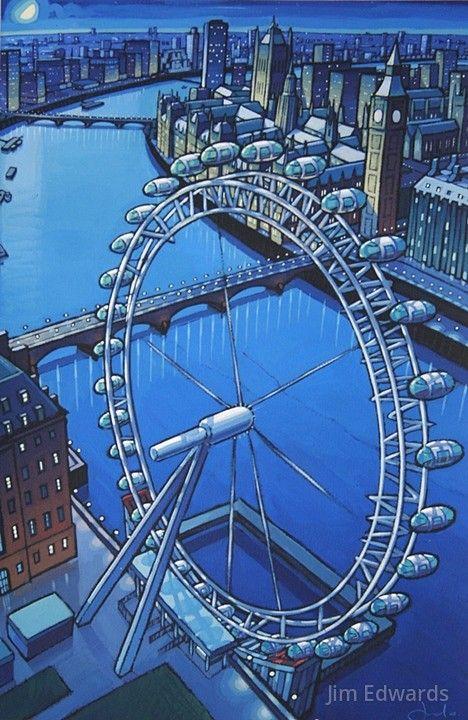 London Eye by Jim Edwards