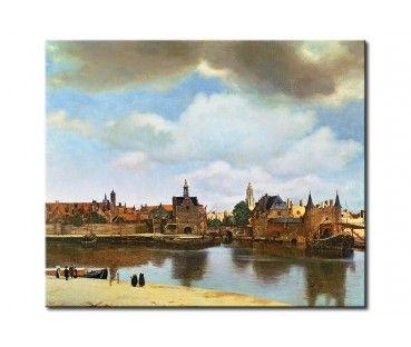 Quadro moderno Veduta di Delft