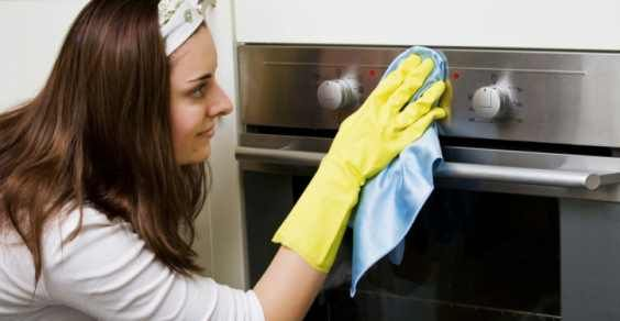 Come pulire il forno senza prodotti chimici (how to clean the oven without chemical products)