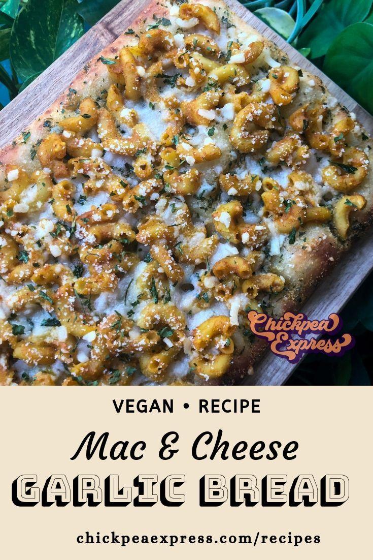 Vegan Mac Cheese Garlic Bread Vegan Pizza Recipe Vegan Pumpkin Recipes Mac And Cheese