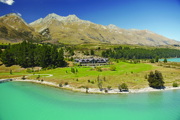 Luxury Boutique Lodge, Blanket Bay.    Glenorchy New Zealand