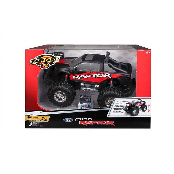 Fast Lane 1:10 Scale Remote Control Car - Ford Raptor | Toys R Us Australia